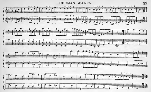 German Waltz c1842