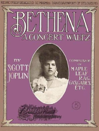 Bethena Sheet Music Cover