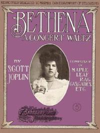 Bethena Sheet Music Cover