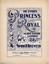 1906 The Famous Princess Royal sheet music cover