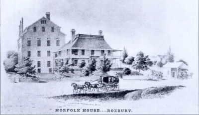 1825c Norfolk House - Roxbury