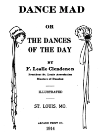 Dance Mad Title Page