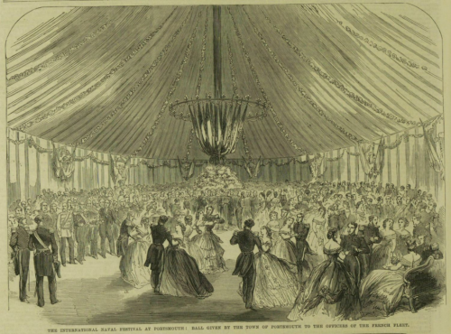Ball at Portsmouth 1865