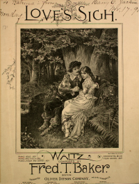 Love's Sigh Sheet Music Cover