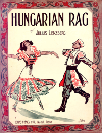 Hungarian Rag Sheet Music Cover