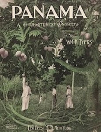 Cover of Panama sheet music