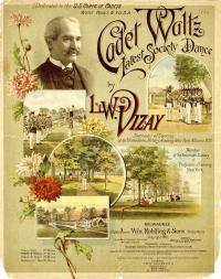 1892 Cadet Waltz Cover