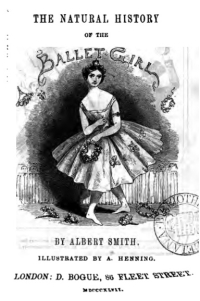 The Natural History of the Ballet Girl Title Page