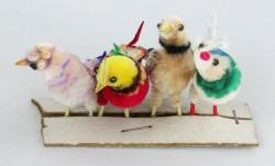 Chenille birds 1